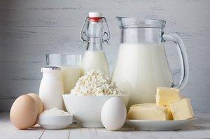 Молочные продукты для зубов