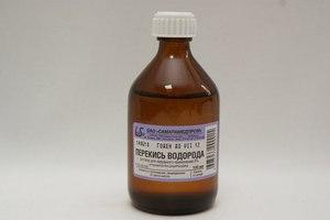 Способ применения перекиси водорода для лечения пародонтита
