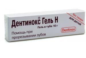 Дентинокс инструкция по применению