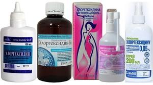 Как использовать Хлоргексидин