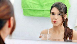 Как часто нужно полоскать рот перекисью водорода