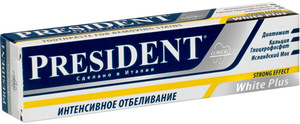 PresiDent White Plus Clinical: описание