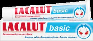 Виды зубной пасты LACALUT